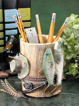 Fishing Pen and Pencil Holder