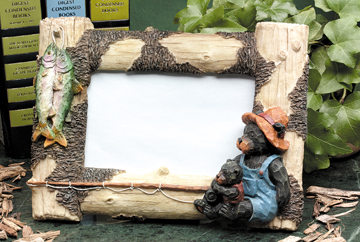 Bear Picture Frame (Horizontal) 3160